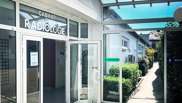 entrée Cabinet radiologie Saint-Joseph Compiègne